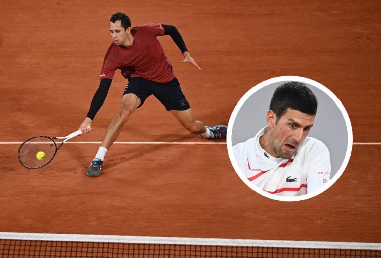 Daniel Galán, Novak Djokovic