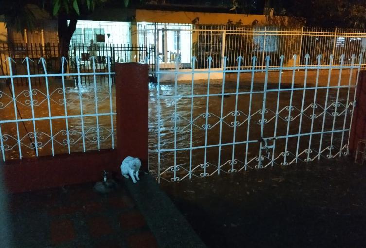 Las lluvias afectaron cerca de 79 barrios de la ciudad