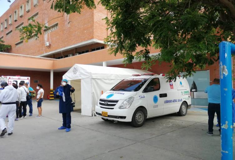 La atención de migrantes venezolanos tiene colapsada la salud en Santa Marta