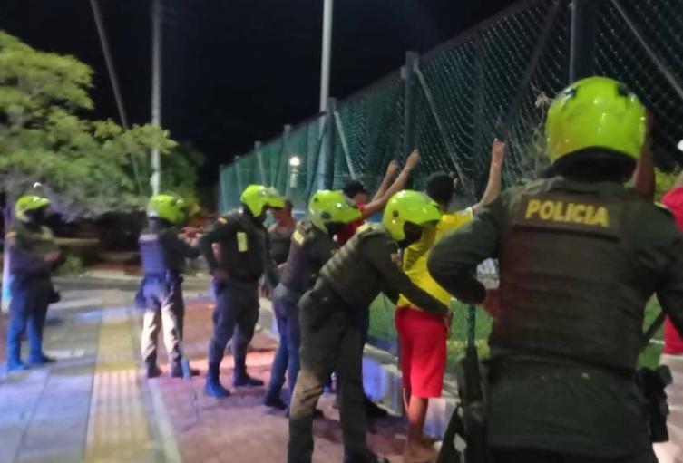 Judicial, Policía, Santa Marta, Magdalena, Operativos