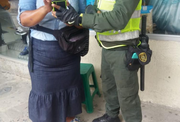 Tapabocas, Policía, Comparendo, Santa Marta, Magdalena
