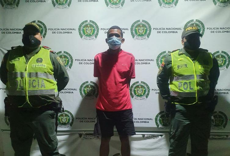 Judicial, Policía, Santa Marta, Magdalena, Captura
