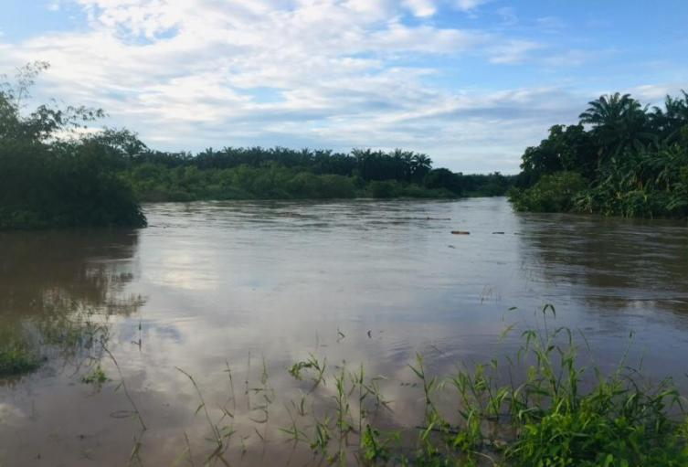 Río Fundación, El Retén, Magdalena, Invierno