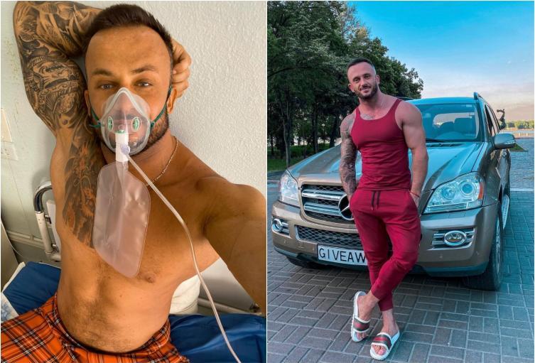 Influencer ucraniano que negaba el covid murió del virus.