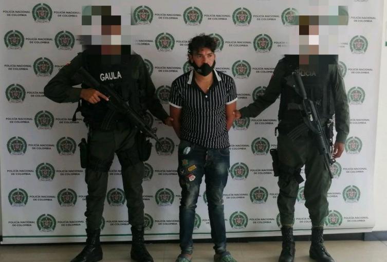 """Policía Nacional captura  en Sucre a Alias """"Macayo"""" presunto integrante del Clan del Golfo"""