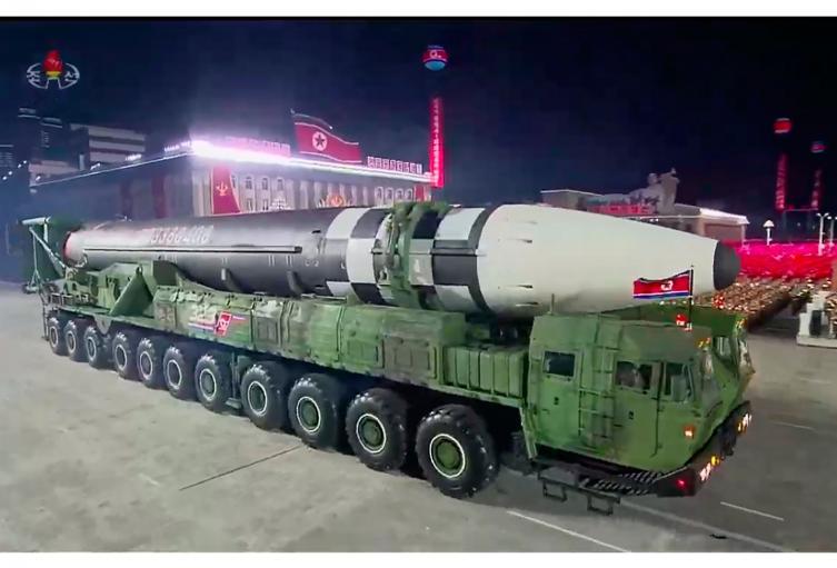 El polémico misil de Corea del Norte