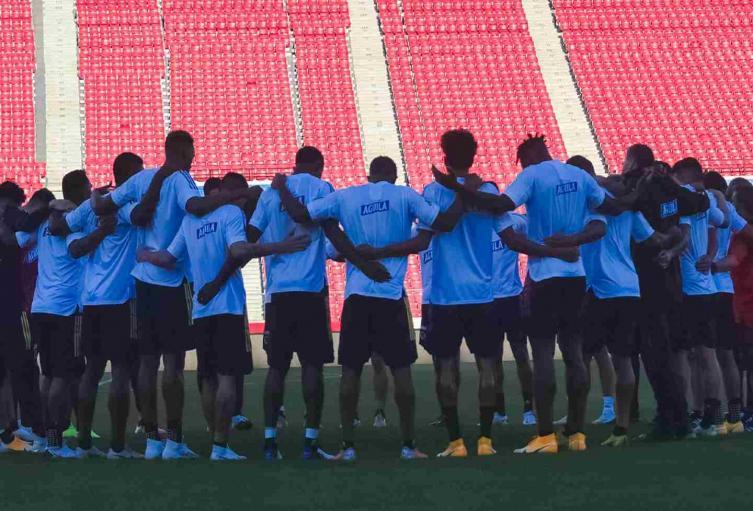Selección Colombia en Chile