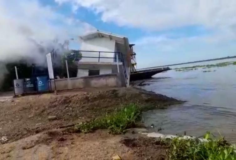 Poblaciones de la subregión del Rio Magdalena están preocupados por el riesgo de las poblaciones por una inundación