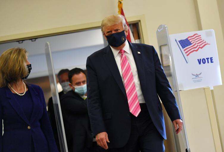 Trump votó elecciones Estados Unidos