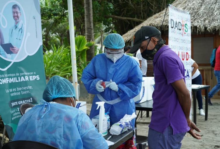 En Cartagena se han practicado 3.000 pruebas de Covid-19 a personal del sector turístico