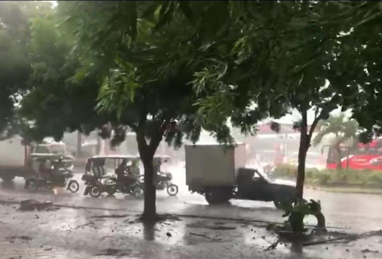Fuertes brisas en Santo Tomas