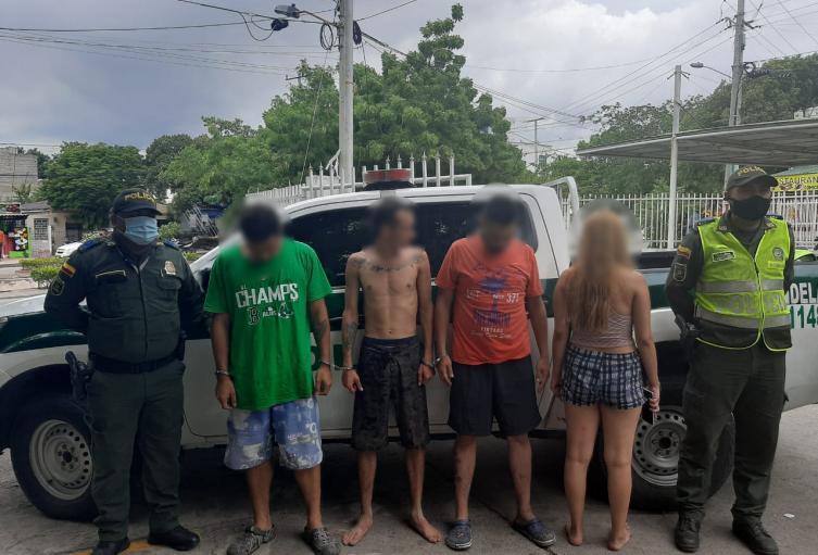 Envían a la cárcel a tres de los capturados por presuntamente quemar 12 quioscos en Playa Blanca