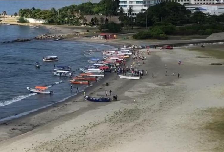 Nuevo incidente entre lancheros y funcionarios de la Dirección General Marítima en Cartagena