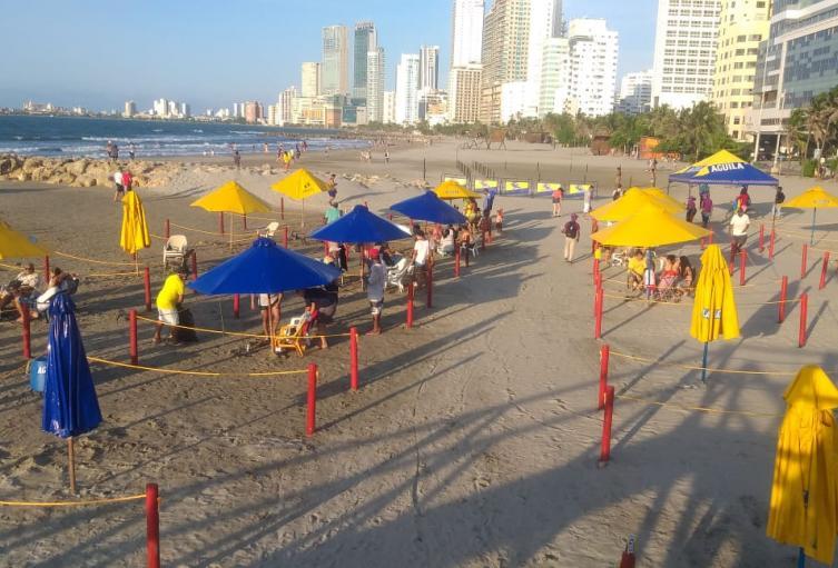 Este sábado 17 de octubre se habilitará la tercera playa biosegura de La Heroica