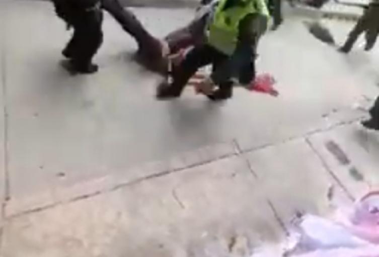 Según la Policía le fue incautada un arma de fuego