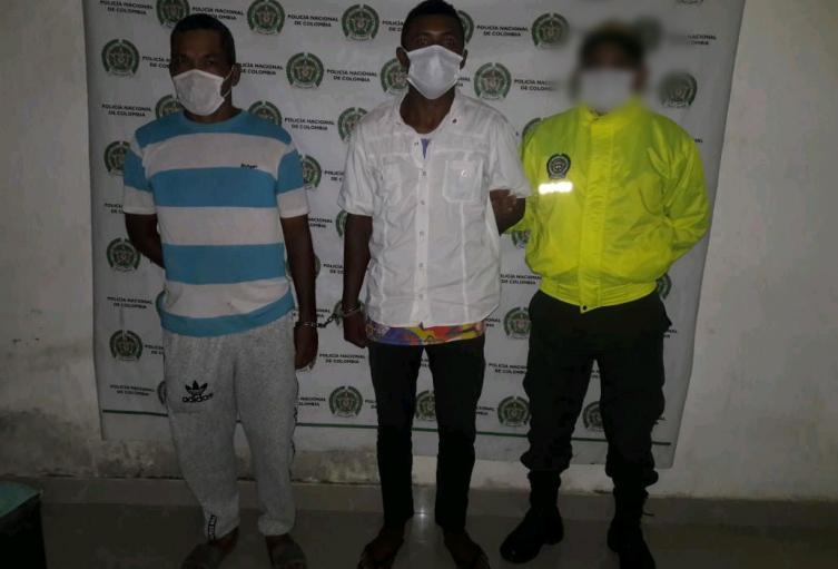 """Por robo de ganado y sacrificio, cayeron """"Toño Sordo"""" y """"El Ñeria"""" en el municipio de Majagual por parte de la Policía  Nacional."""