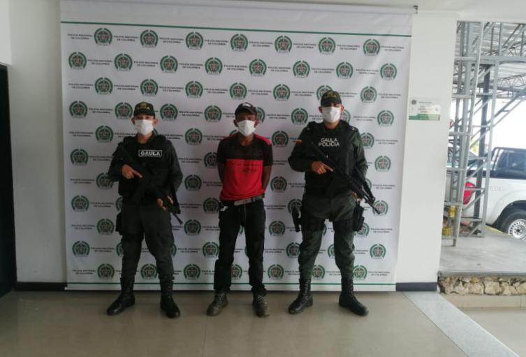 Presunto desmovilizado de las Farc fue capturado por extorsión en Galeras(Sucre)