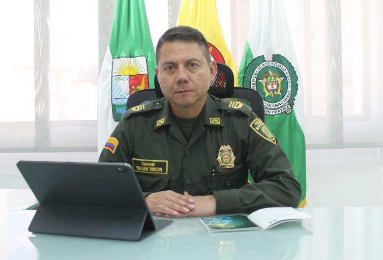Policía Nacional en Sucre presenta balance operativo de fin de semana