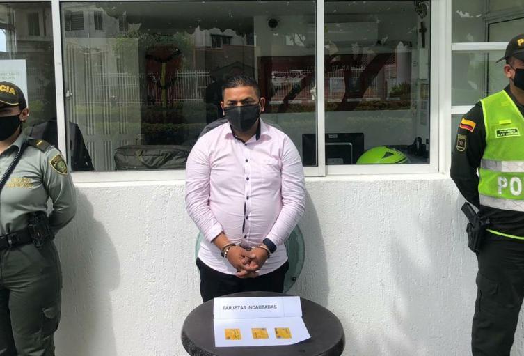 Detenido por el delito de medios informáticos