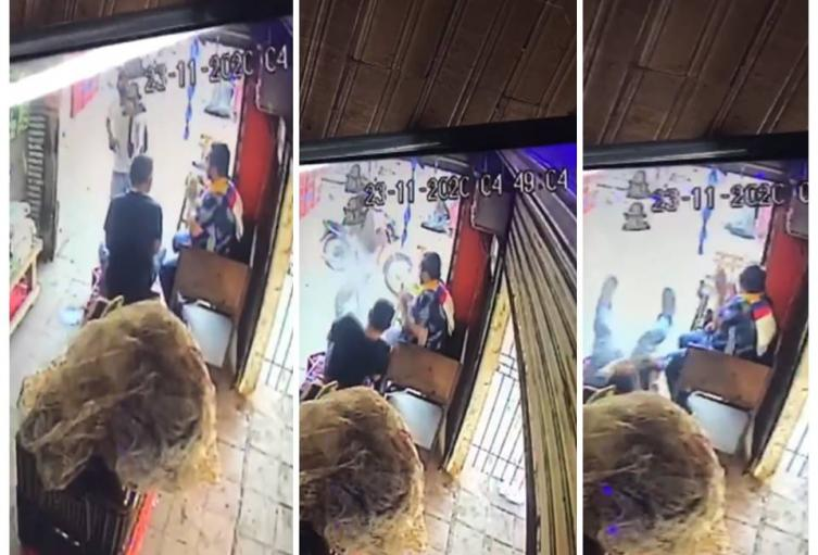 Murió minutos más tarde en un centro asistencial de Cartagena
