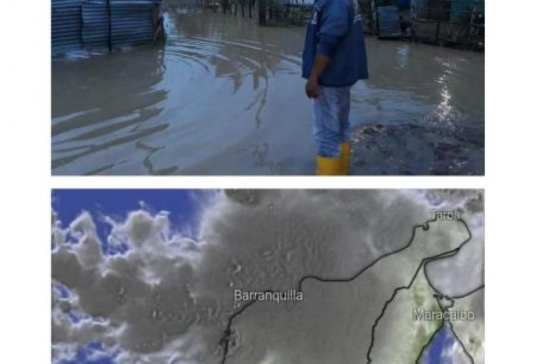 Coveñas se prepara afrontar el paso de la onda tropical Lota