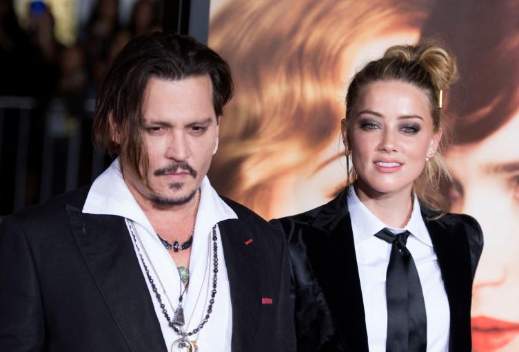 Johnny Depp y su exesposa Amber Heard envueltos en caso de violencia intrafamiliar