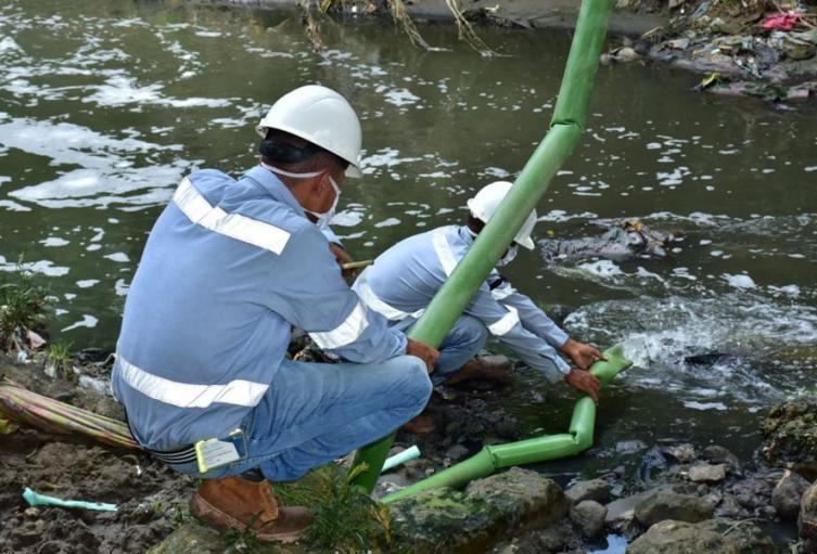 Continúa investigación sobre impacto de la fico remediación en el arroyo Grande de Corozal