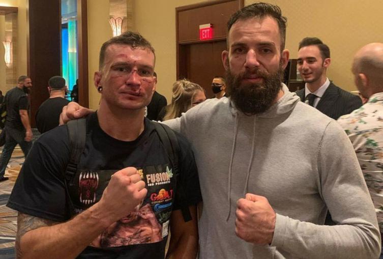 Francesco Ricchi y Noah Cutter, boxeadores sin guantes