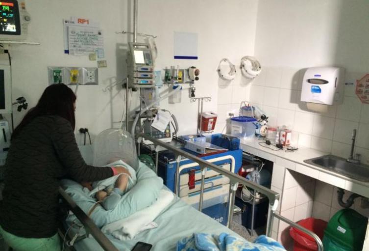 Los menores son atendidos en centros asistenciales.