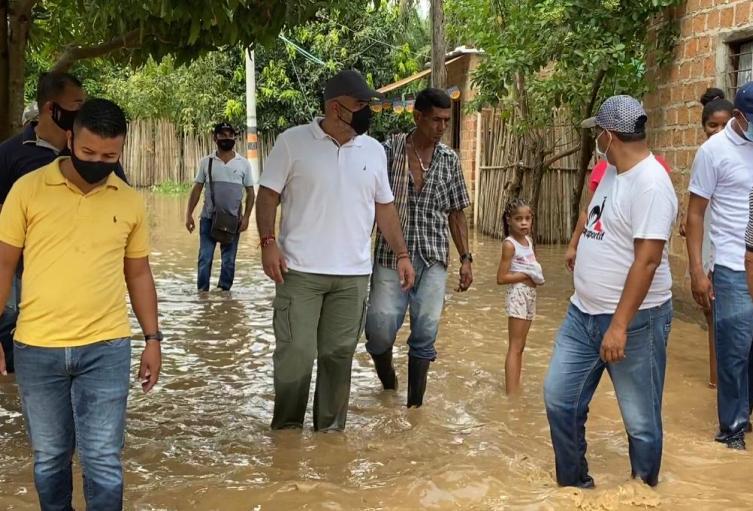 Inundaciones, El Retén, Magdalena, Invierno