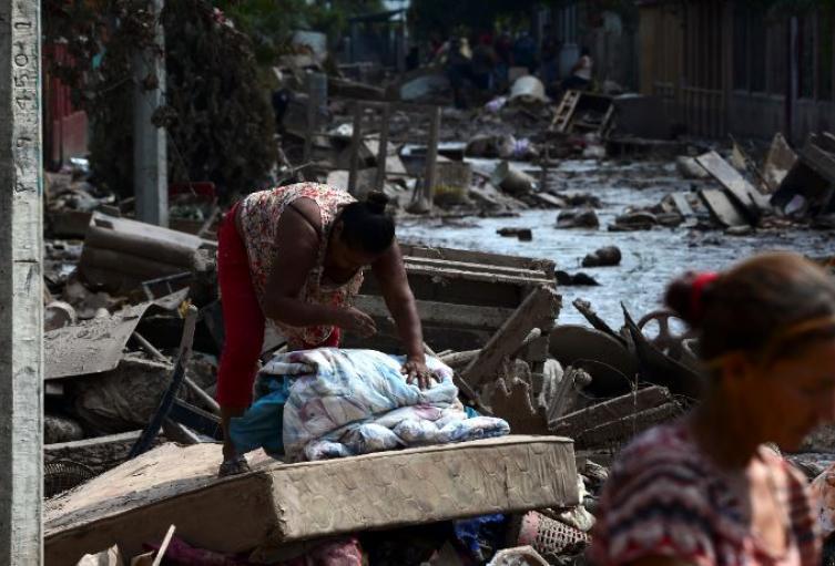 Huracán Iota impacta en Centroamérica