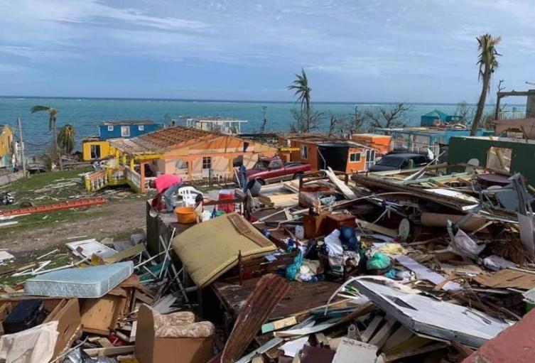 Providencia tras el paso del huracán Iota