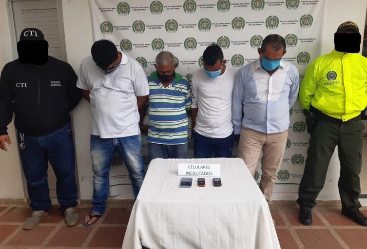 Por Abigeato, fueron capturadas cuatro personas en los municipios de Corozal y Since ,en el departamento de Sucre.
