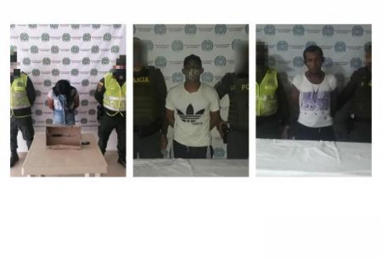 """Por """"pegones"""" fueron capturadas tres personas en los municipios de Coveñas y Sincelejo"""