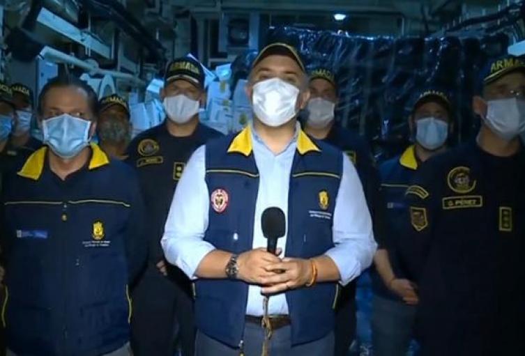 Presidente anuncia ayudas humanitarias para San Andrés y Providencia