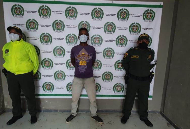 Hombre que presuntamente abuso sexualmente de su hija/ Bolívar