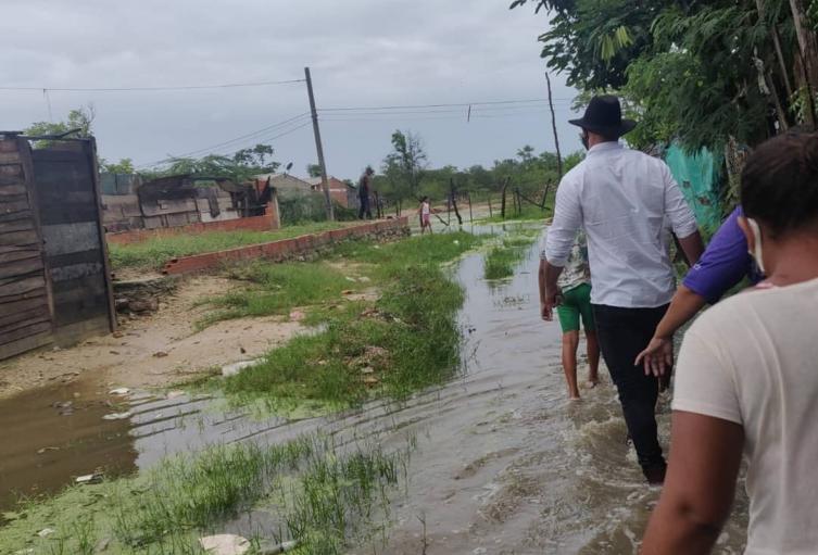 Inundaciones, Magdalena, Sitionuevo, Caños