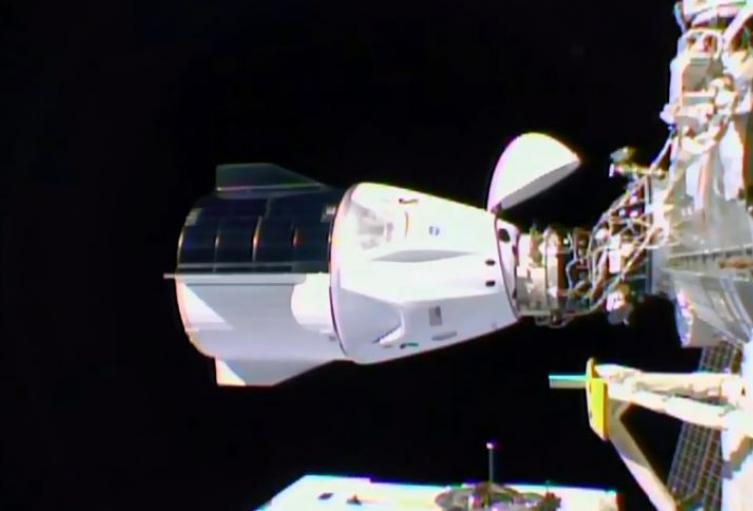 """SpaceX Crew Dragon """"Resilience"""""""