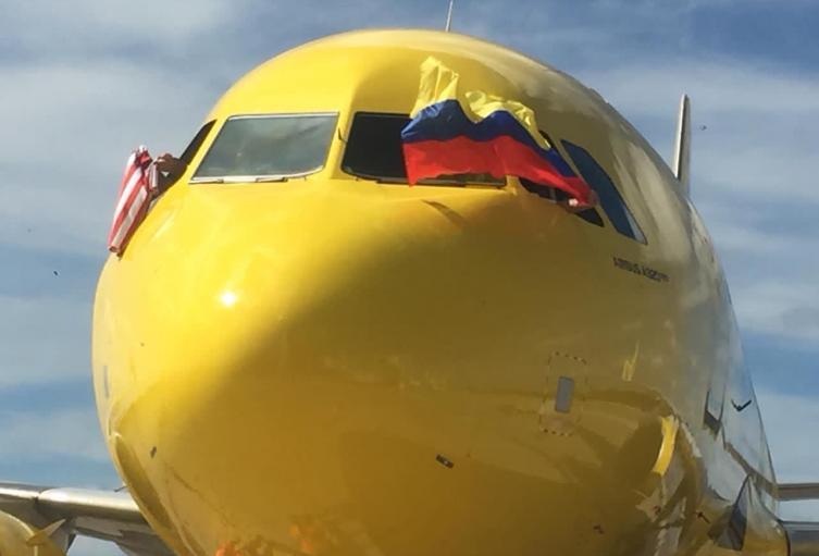 Vuelo inaugural de Spirit en Barranquilla