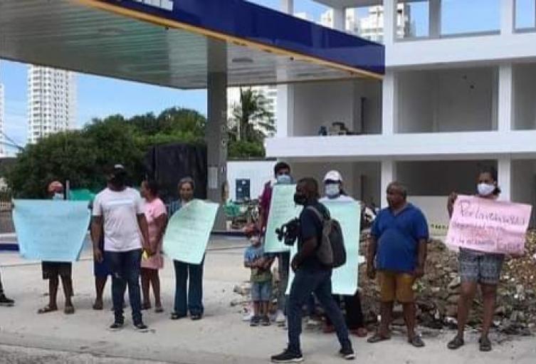 Estación de gasolina estaría construyéndose en una zona residencial, violando el POT de Cartagena