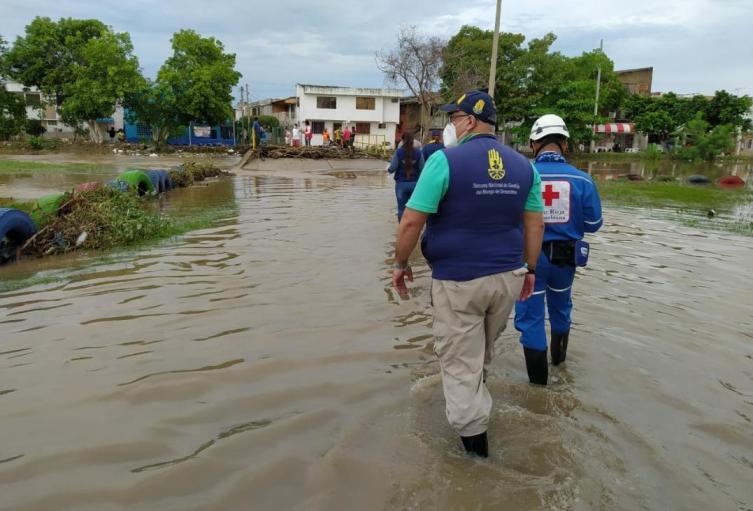 Huracán ETA continúa generando lluvias en Cartagena y el Caribe colombiano