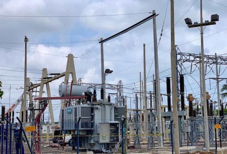 Redes eléctricas de la empresa Air-e.