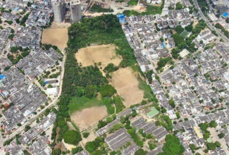 Advierten construcción de proyecto de vivienda en terrenos ubicados en un colegio de Cartagena