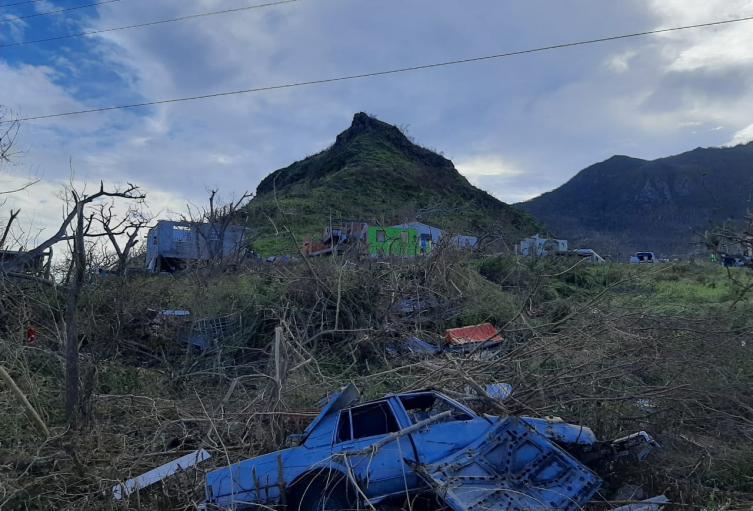 Providencia y las afectaciones que dejó el paso del huracán Iota.