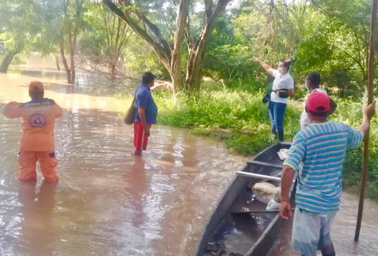Las familias tenemos que las constantes lluvias empeoren la situación