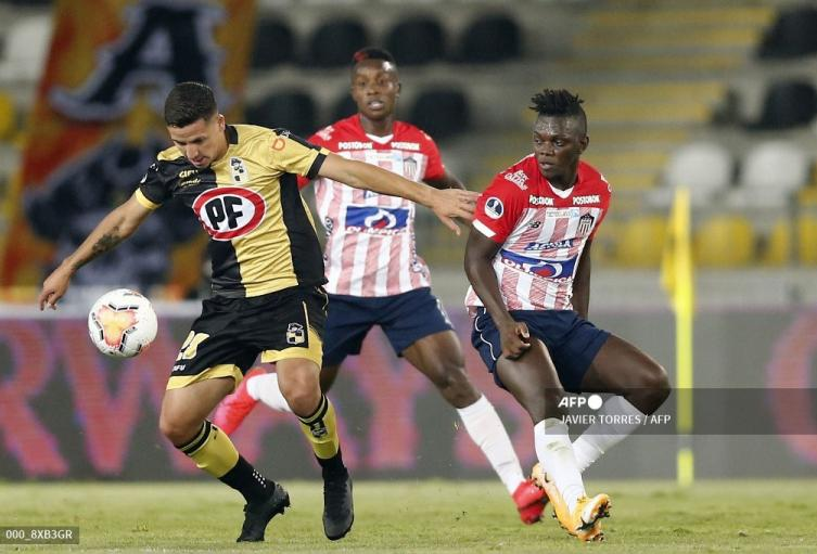 Coquimbo vs Junior; Copa Sudamericana