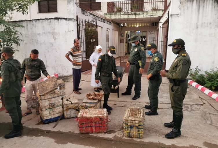 Grupo de Protección Ambiental y Ecológica del Departamento de Policía Bolívar