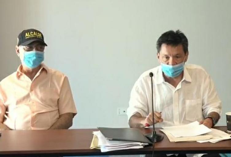 Audiencia contra alcalde William Dau