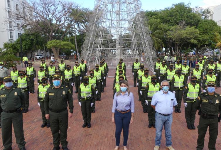 Las nuevas auxiliares de Policía  apoyará la atención comunitaria