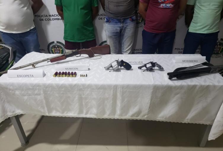 Las capturas fueron en varios municipios de Córdoba